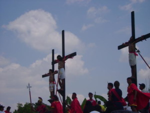 philippines crucifiction